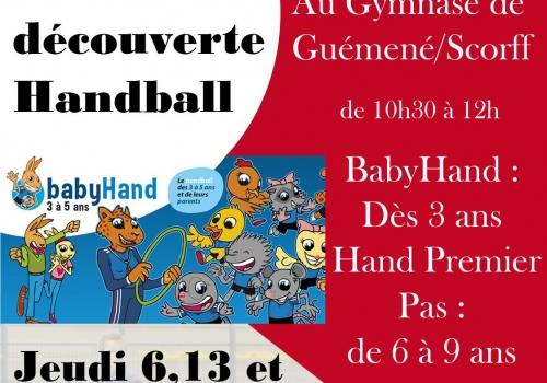 Journée Découverte Handball