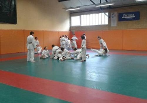 Stage Judo à Ploemeur - Octobre 2017